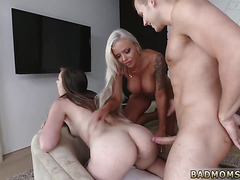 Mom watches audition A Mother boss's daughter
