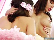 Milky enema lesbo teenagers