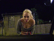 Stranded blonde Russian teen Lola Taylor gets picked up and fucked