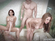 Teen cum whore gangbang The More Badmoms The Better