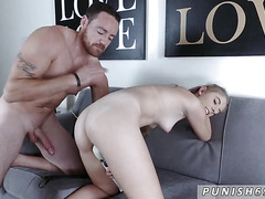 Teen braces hd Alyce Andercompeer's son in Let The Man