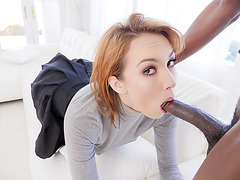 Switching cheating bf for a big black cock