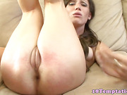 Teen babe fingered by her step bro