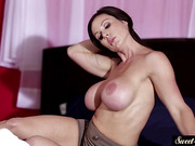 Mature babe doggystyled by a fat cock