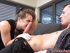 Babe gets asshole pounded