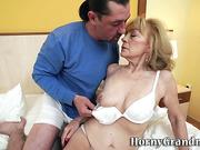 Old pensioner loves cock