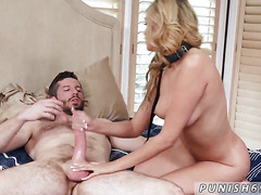 Extreme dick riding first time Stephanie West in Im
