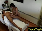 Hot spycam fucking at an asian massage