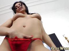 Ass fingered fetish babe