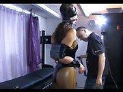 Slave girl looks so good in latex