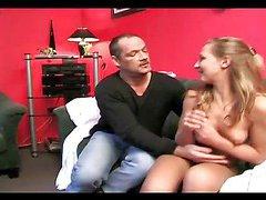 Horny slave loves a good spanking