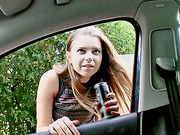 Marina Visconti fuck stranger in the van