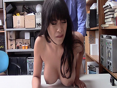 LP Officer doggystyle fuck Aryana Amatista romping her with his man meat