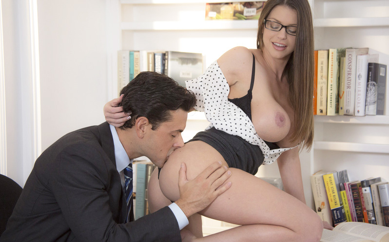 Busty Secretary Brooklyn Chase Gets Fucked Hard My Pornsta Yourfreeporn 1