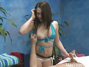 Hot 18 year old gives more than just a massage