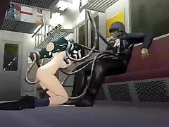 3d girl fucked hard in the train