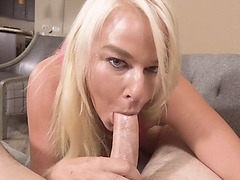 Frustrated MILF stepmom begging for a fuck to stepson