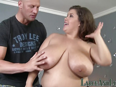 This horny BBW loves to get fucked good
