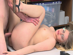 Taylor Blake got no choice but to be fucked by this horny LP Officer