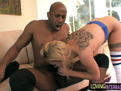 Sexy small tittied blonde anally ruined