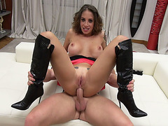 Busty italian milf licked and analed reamed by Roccos friend