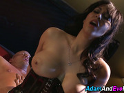 Bound sub gets whipped