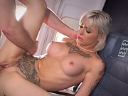 Hot tattooed stewardess Kleio screwed up