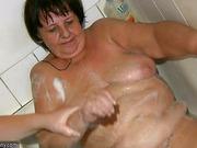 Oldnanny chubby Granny has massage of BBW mature Nurse