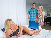 Jennifer Best n Karla Kush cock sharing