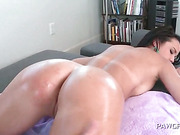 Fat ass babe pounded in her slick fuck hole