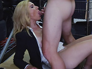 Lovely milf mom sell her pussy for cash