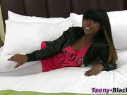 Slutty ebony teens facial