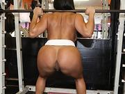 Sexy Latina Becca Diamond's tasty pussy