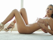 Super hot chick Alexis rides dick filmed in POV with 3D sound technology
