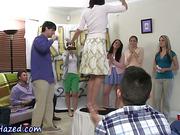 Amateur teens share dildo