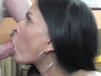 Indian slut naomi shah is on her knees and sucking dick