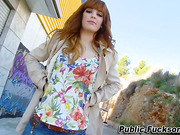 Redhead amateur drilled