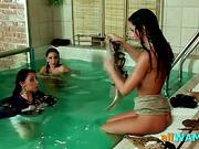 Hot Czech Teens Swimming Naked