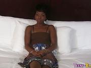 Nubian slut face drenched
