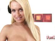 Horny Blonde Dutch Sandra Solo