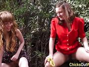 Amateur lesbians pissing