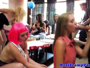 Aurielee Summers licked out at bridal shower