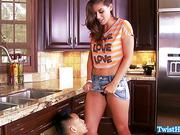 Rilynn Rae fucking her plumber