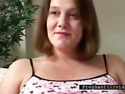 Brunette Discusses Blowjobs