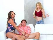 MILF Yasmin entertains sensually Calis boyfriend and they have sex