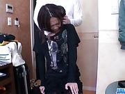 Japanese POV porn with slim teenKaede Sakura