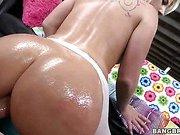 An ass made for anal and cum