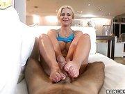 Phoenix Marie Demands A Footjob