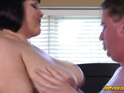 BBW wife gets hungry