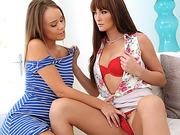 Teen Alexis Adams needs cock advice from MILF Bianca Breeze